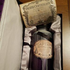 Disney Haunted Mansion host ghost jar the captain